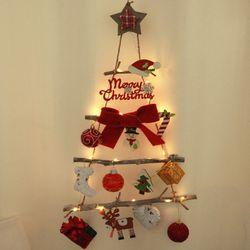 쿠션별 벽걸이 우드트리 60cmP 크리스마스 TRHMES