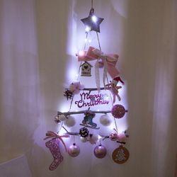 토끼산타 벽걸이 우드트리 60cmP 크리스마스 TRHMES