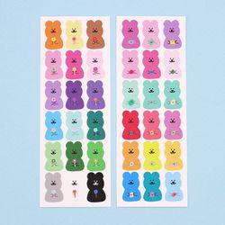 [한톨상점] 반곰이의 소듕한 씰스티커 2종