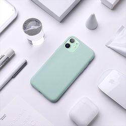 엘라고 아이폰11 실리콘 케이스
