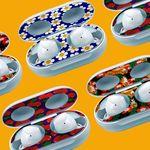 [신상품 런칭세일!] 갤럭시버즈 철가루방지 스티커(2pc) - Pattern