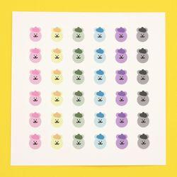 [한톨상점] 명탐정 반곰이 스티커