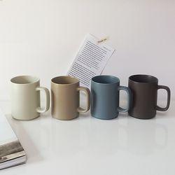 레트로 무광 머그컵(350ml) 카페컵
