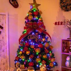 그래이스퍼PVC 180cm (양면) 풀세트 크리스마스트리