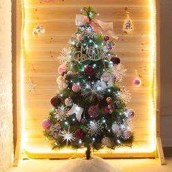 고급 방울설정그린솔 120cm 풀세트 크리스마스 트리