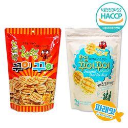 노래방 한입 꾸이꾸이 오리지널 1봉 + 파래맛 1봉