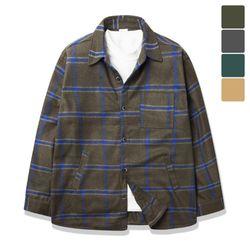 오버핏 포켓 토이 셔츠 코트 CTJ014