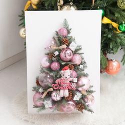 산타곰 캔버스 트리 70cmP 크리스마스 미니 TRHMES