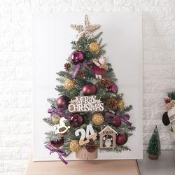 바이올렛천사 캔버스 트리 80cmP 크리스마스 TRHMES