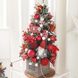 베이비산타가방그레이트리철재화분 75cmP 크리스마스