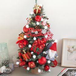 베이비산타가방그레이 트리 75cmP 크리스마스 TRHMES
