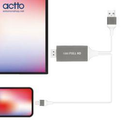 엑토 플릭스 애플8핀 to HDMI미러링케이블 HDMI-03
