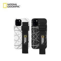 내셔널지오그래픽 스트랩 더블 로고 패치 케이스 아이폰