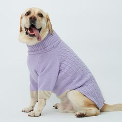 Lavender Cheez Cashmere Knit 대형견 - 4L 5L 6L Size