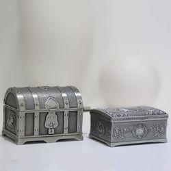 금속 보물상자 오르골 뮤직박스 2type