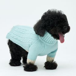Emerald Cheez Cashmere Knit 소형견 - S M Size