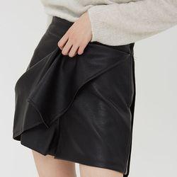 [skirt] 페이크 미니 스커트