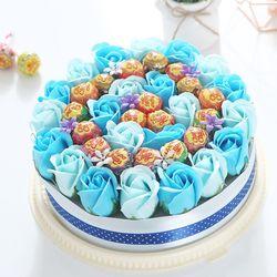 츄파춥스 원형케익(블루)