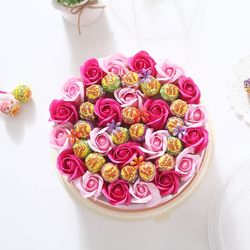 츄파춥스 원형케익(핑크)