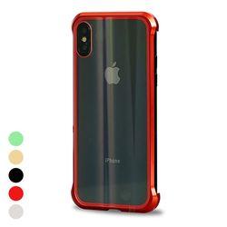 아이폰6 마그네틱 강화유리 커버 메탈 케이스 P329
