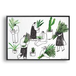 식물 가꾸기