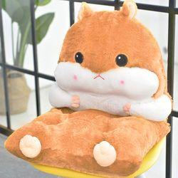 햄스터방석 (베이지) 햄찌방석 쿠션+방석 set