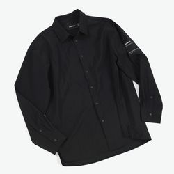 NYLON COMFY SHIRTS (BLACK)
