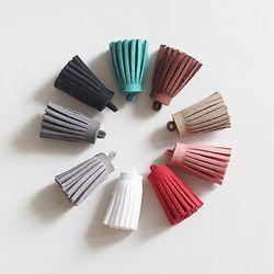 미니 스웨이드 테슬 10p set(9color)