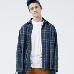 GREEN CLASSIC CHECK SHIRTS (GREEN)