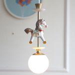 회전목마 1등펜던트(LED전구포함)