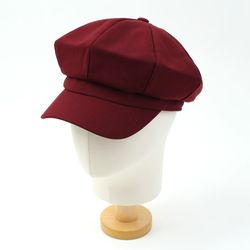 Heavy Wine Newsboy Cap 뉴스보이캡