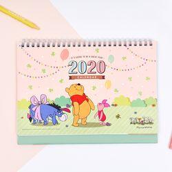 [1300K 단독 선오픈] 곰돌이 푸 2020 데스크캘린더