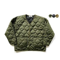 포켓 퀄팅 재킷 Pocket Quilting Jacket(3color)