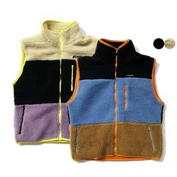 시어링 컬러블럭 베스트 SHEARLING COLOR BLOCK VEST(2color)