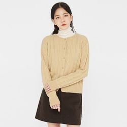 dayday cable wool cardigan