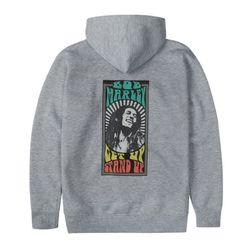 BM GET UP STAND UP HOODIE GY (BRENT1915)