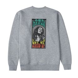 BM GET UP STAND UP SWEATSHIRT GY (BRENT1913)