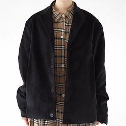 classic 4 button corduroy jacket (3colors)
