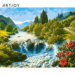 아트조이 DIY 명화그리기 시원한 계곡 60x75cm