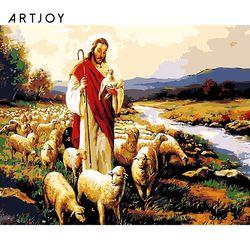 아트조이 DIY 명화그리기 예수와 양 60x75cm