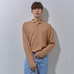 knit cara t shirts beige