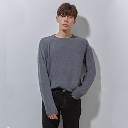Co ramsoul basic knit charcoal
