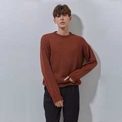 DM round knit brown