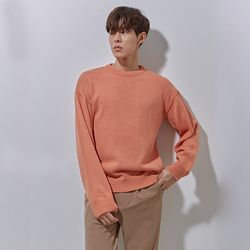 DM round knit orange