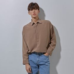 N hidden basic shirts brwon
