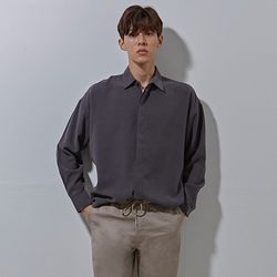 N hidden basic shirts grey