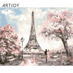 아트조이 DIY 명화그리기 봄에 물든 에펠탑 60x75cm