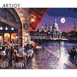 아트조이 DIY 명화그리기 베네치아의 카페 60x75cm