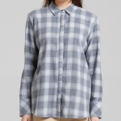 CHECK SHIRTS (GREY)
