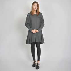 LOGO DRESS (GREY)